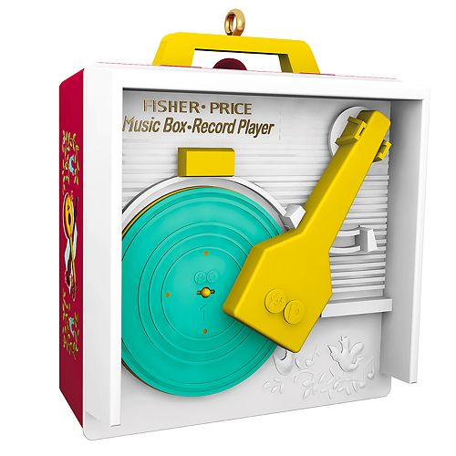 Fisher price music box record player instructions