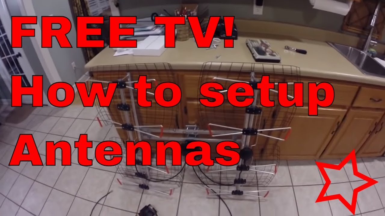 tv antenna grounding instructions
