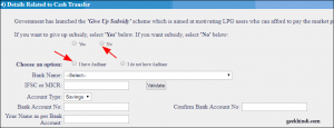 Bharat gas new connection online application form