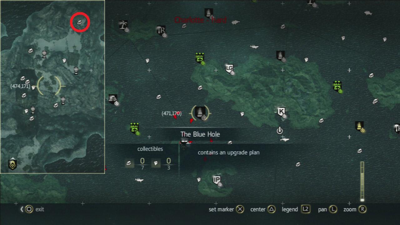Assassins creed black flag how to get upgrade plans