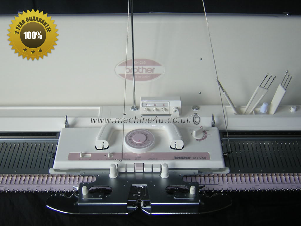brother kh260 knitting machine manual