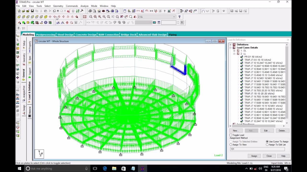 Design of circular water tank pdf