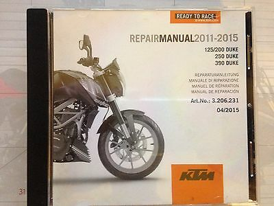 ktm duke 200 repair manual