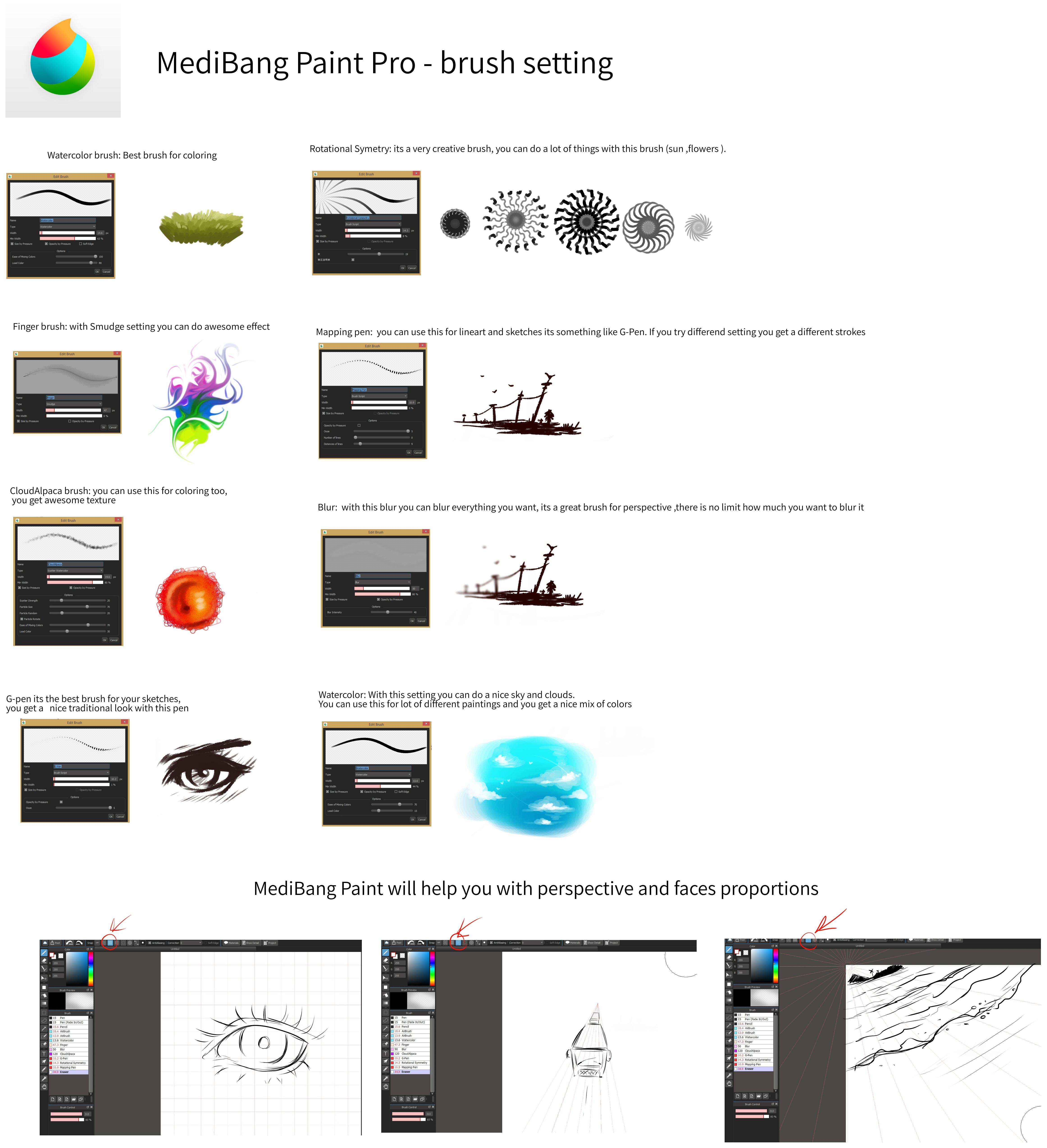 Medibang how to delete brush