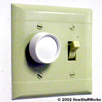 Sliding light how to make a dimmer switch