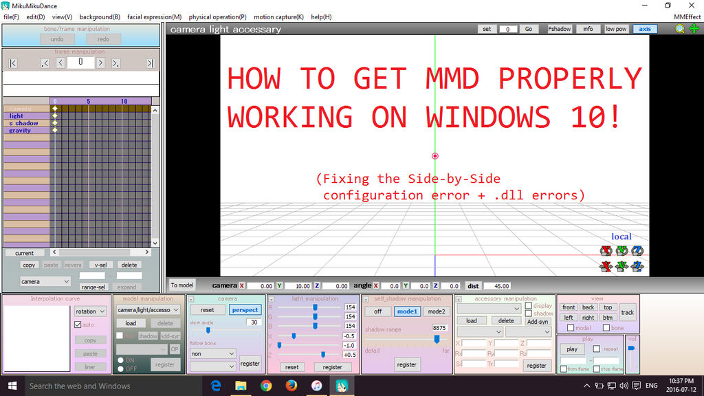 Mmd how to add motherbone