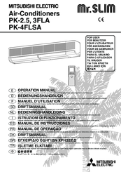 mitsubishi electric mr slim par jh050ka manual