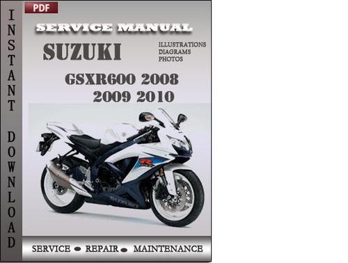 2009 suzuki gsxr 600 owners manual