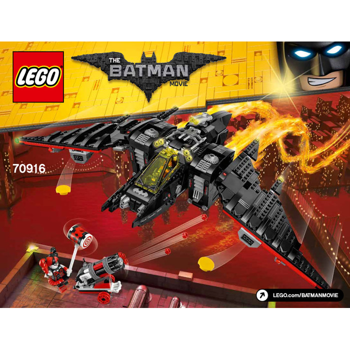 lego batwing instructions 70916
