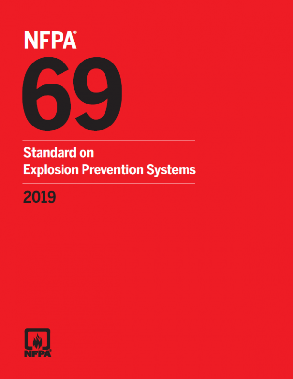 Nfpa 69 standard on explosion prevention systems pdf