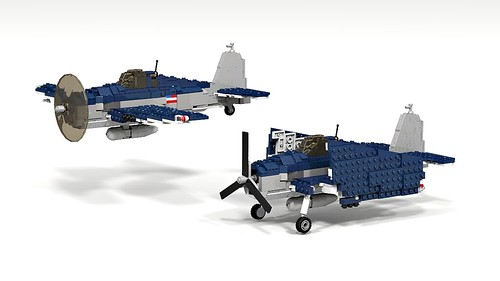 lego f6f hellcat instructions