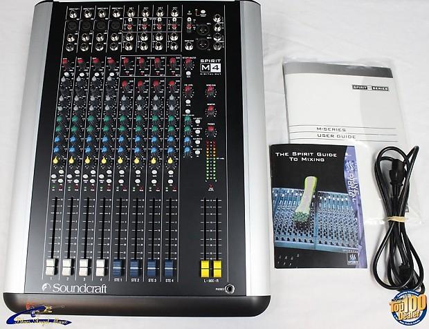 soundcraft spirit m4 service manual
