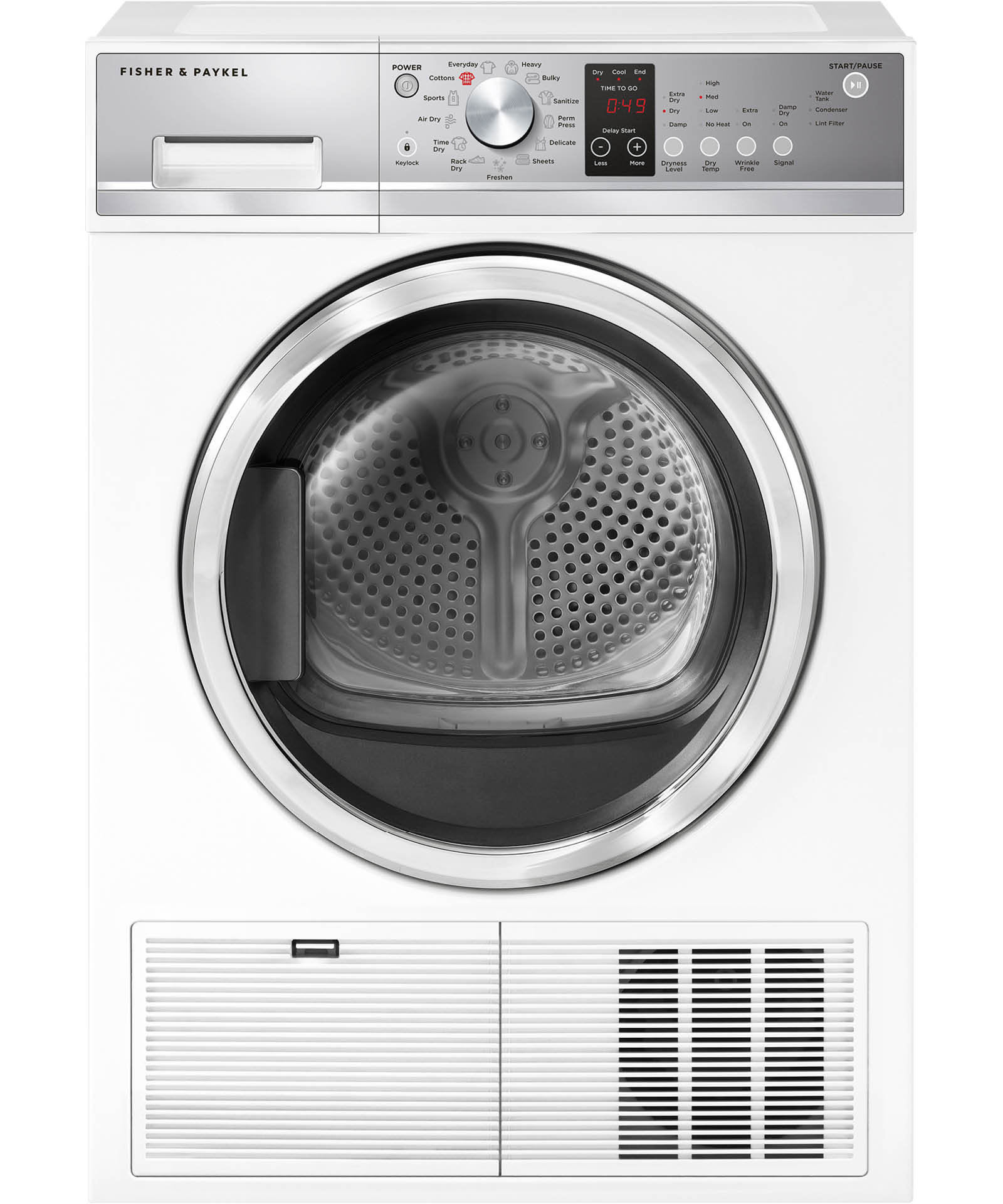 fisher and paykel dryer de50f56e1 manual