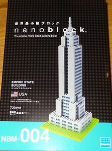 Nanoblock empire state building instructions