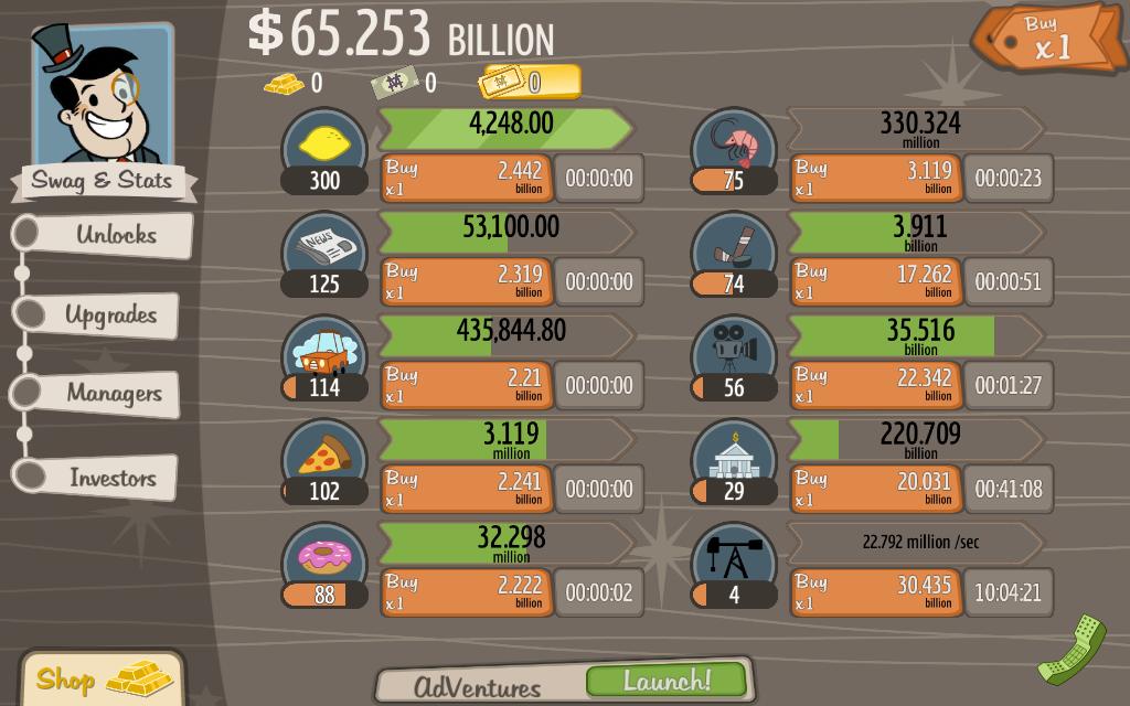 Adventure capitalist how to get moon bucks