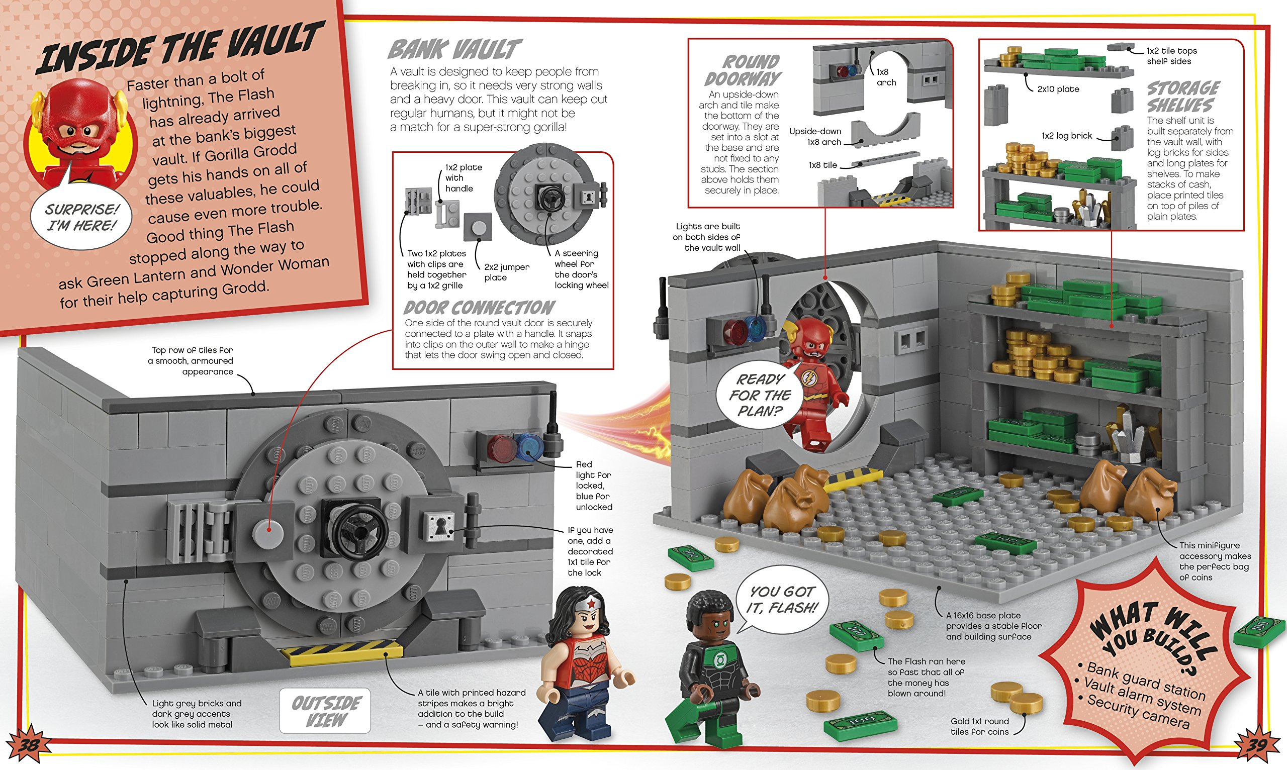 Make your own lego instructions book