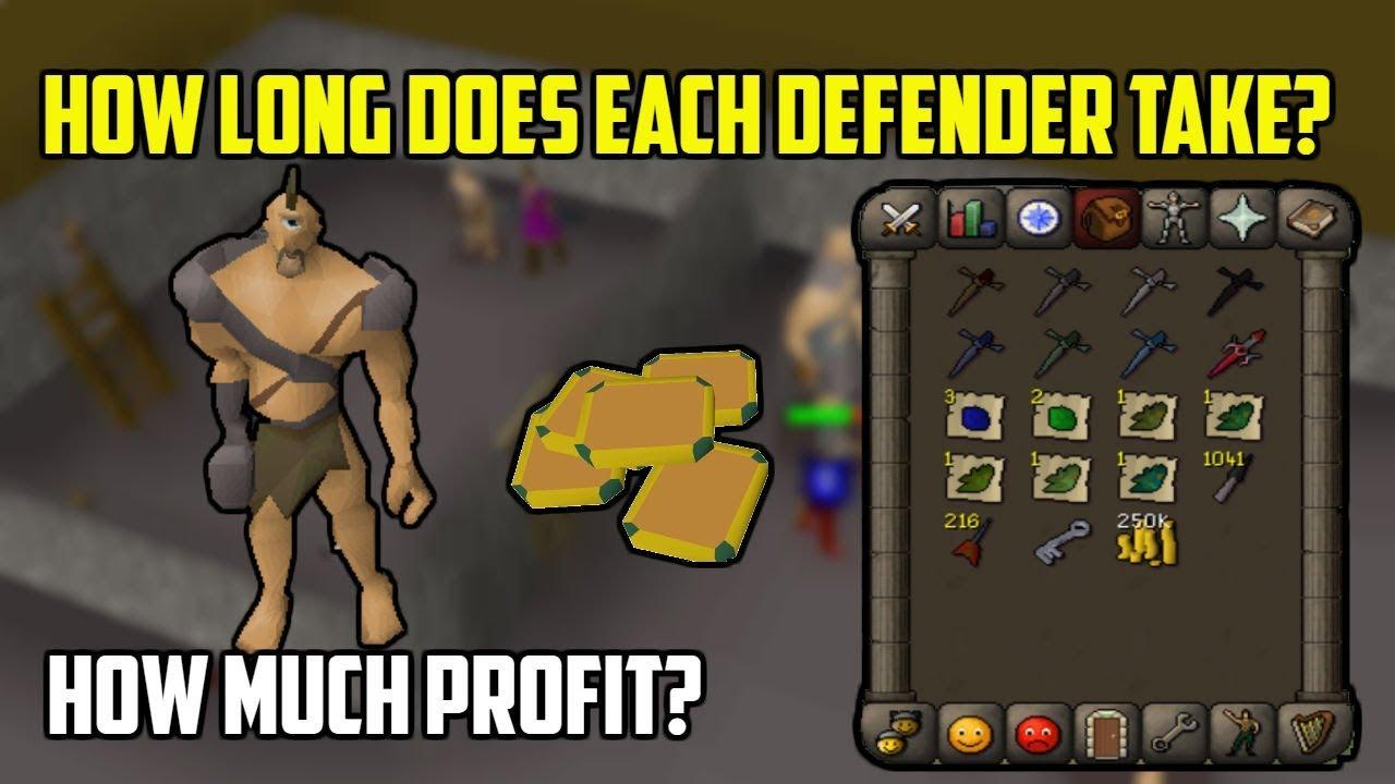 Osrs how to get dragon defender