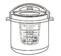 cooks essentials pressure cooker manual model 99700