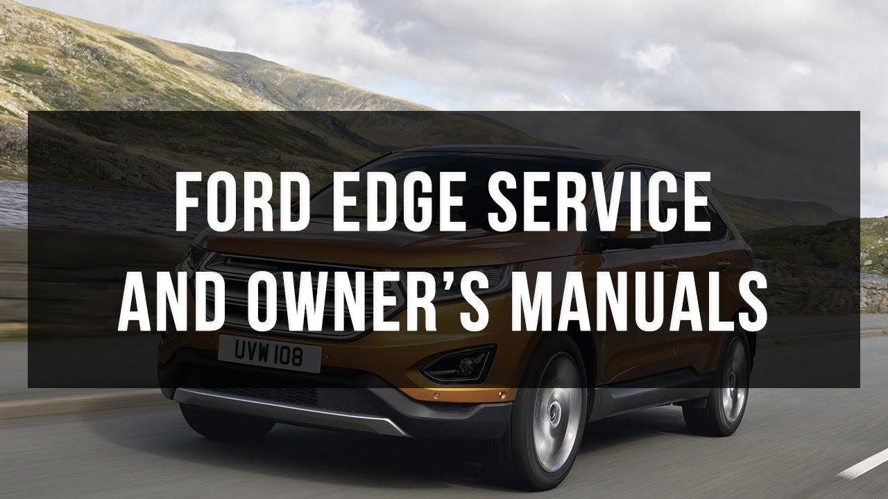 Ford edge service manual pdf