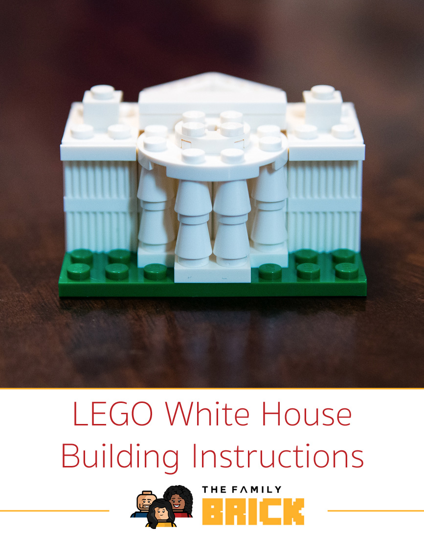 lego white house instructions