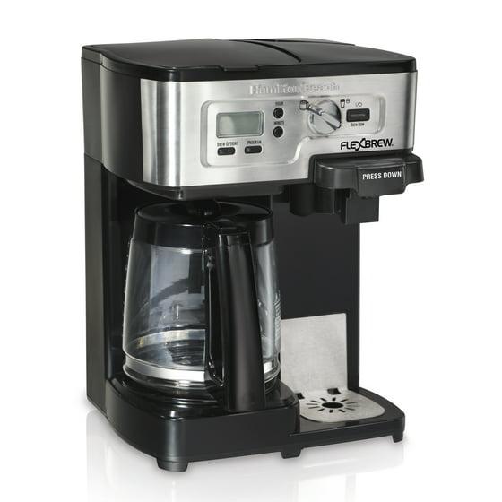 hamilton beach flexbrew 2 way coffee maker manual