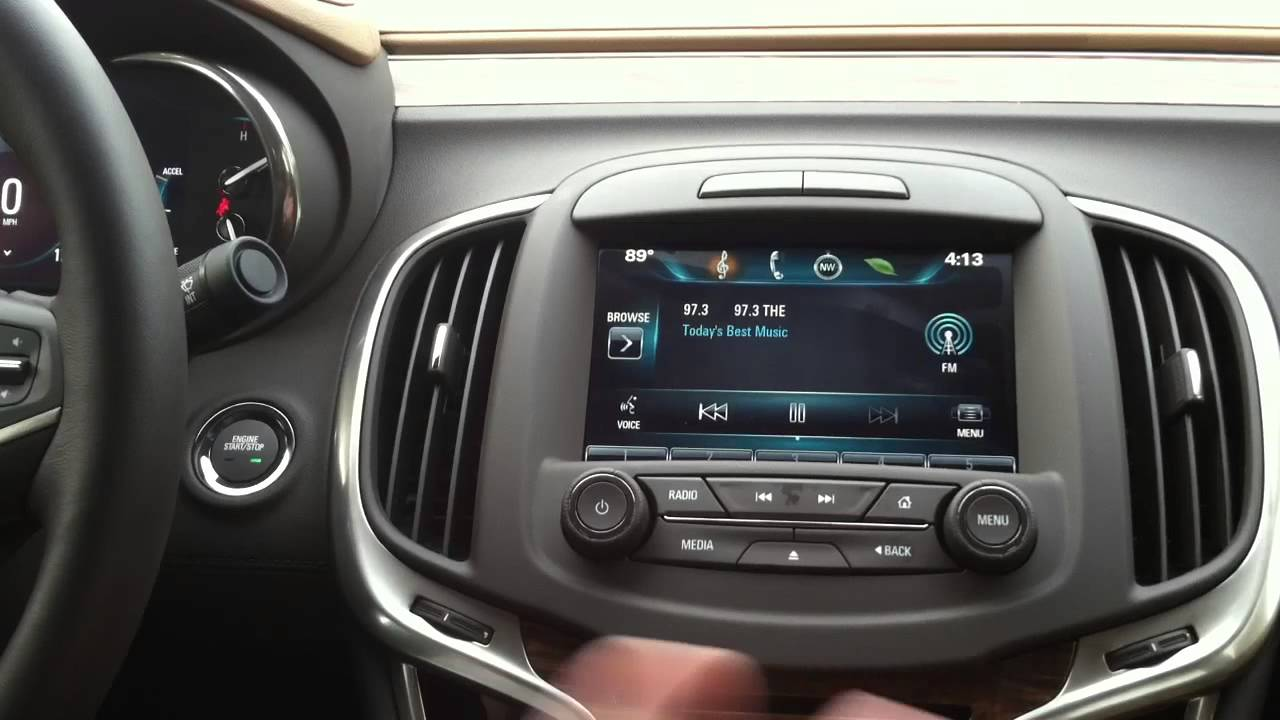 2017 buick lacrosse infotainment manual