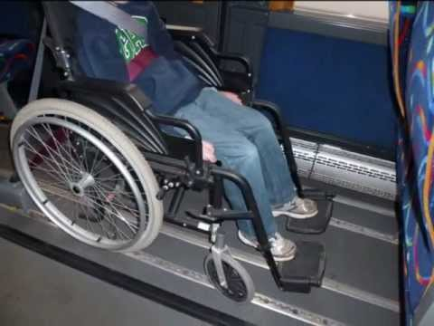 Wheelchair tie down instructions