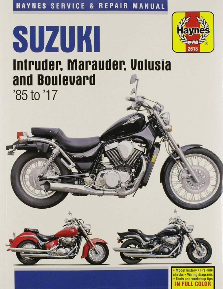 suzuki intruder 250 workshop manual