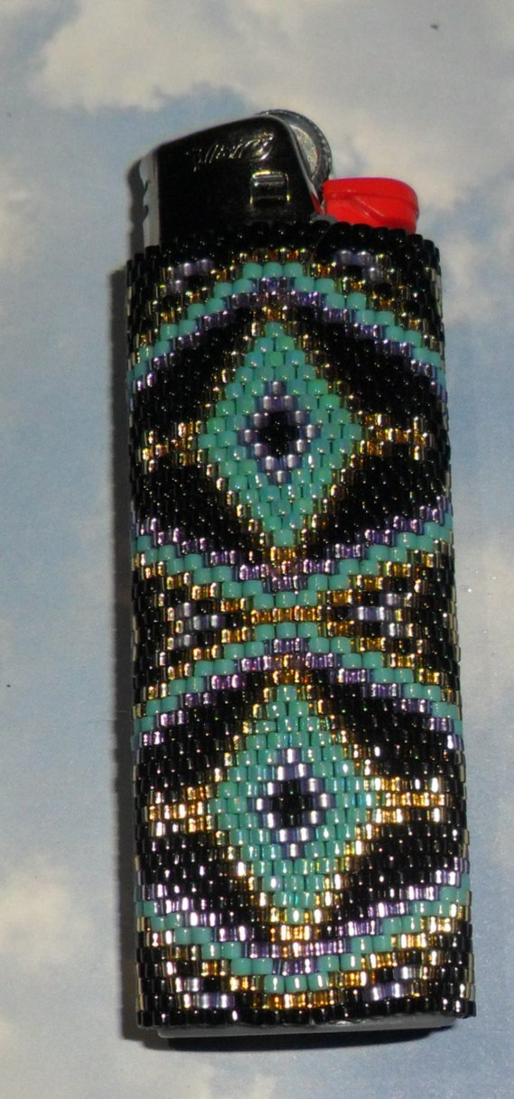 beaded lighter cases instructions