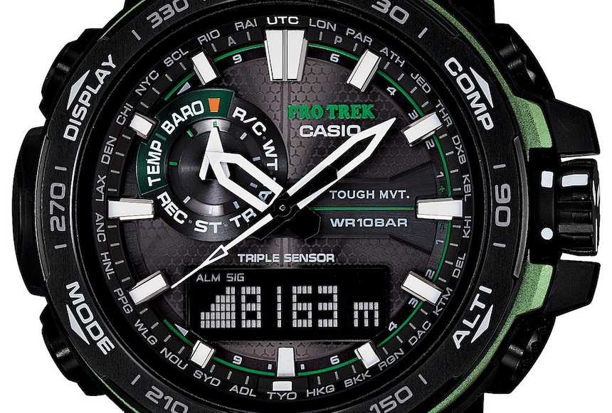 Casio protrek prw 6000 manual