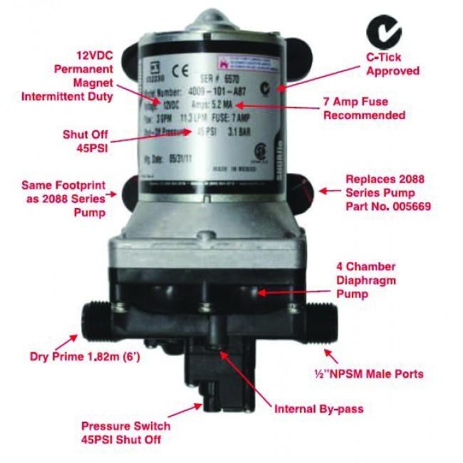 shurflo 4009-101-a87 manual