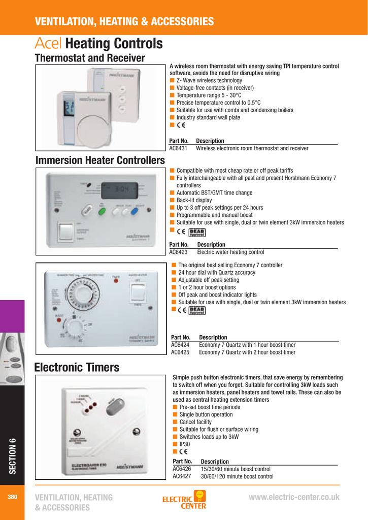 horstmann quartz e7 user manual