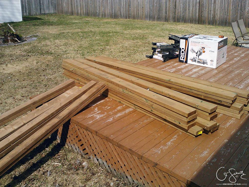 deck bench brackets instructions