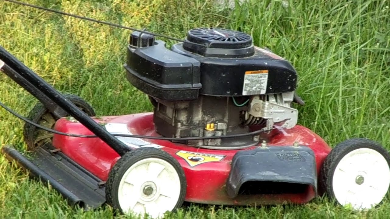tecumseh 3.5 hp lawn mower manual