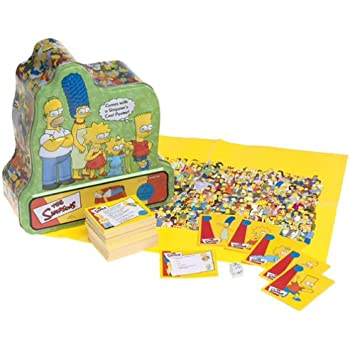 simpsons trivia board game instructions