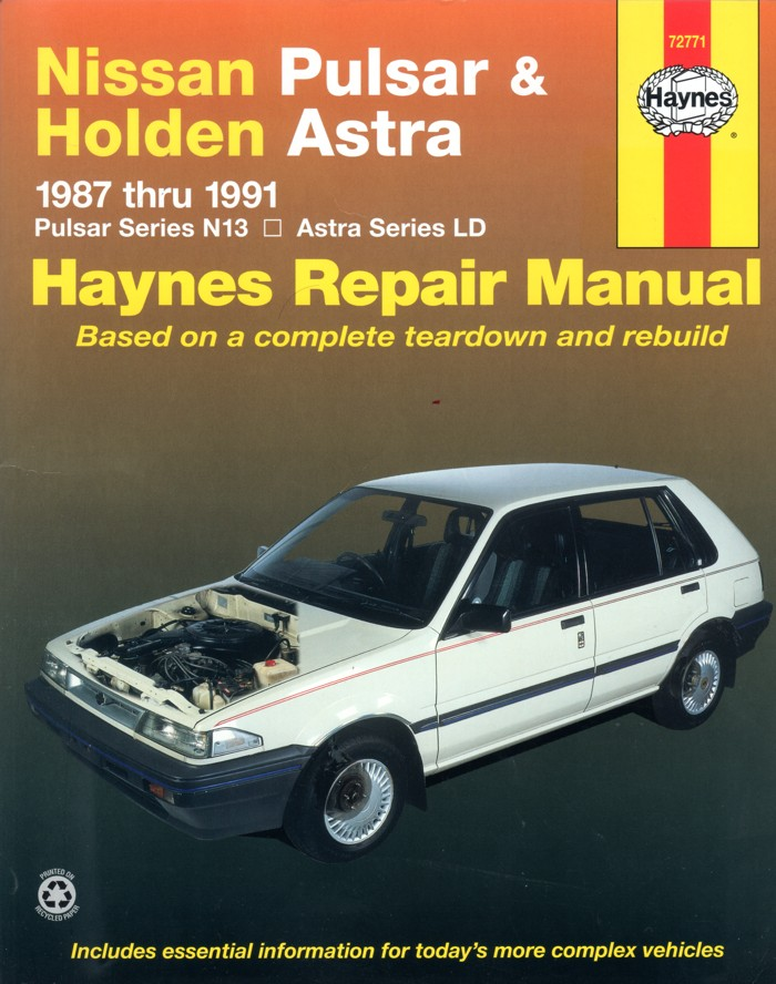 nissan pulsar n13 workshop manual free download