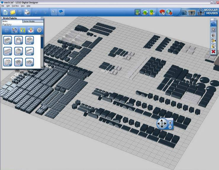 lego digital designer how to use instructions