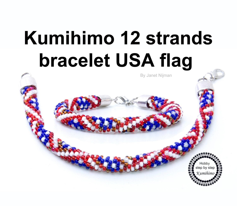 8 strand kumihimo instructions