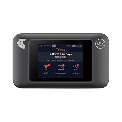 telstra pre paid 4gx wifi pro manual