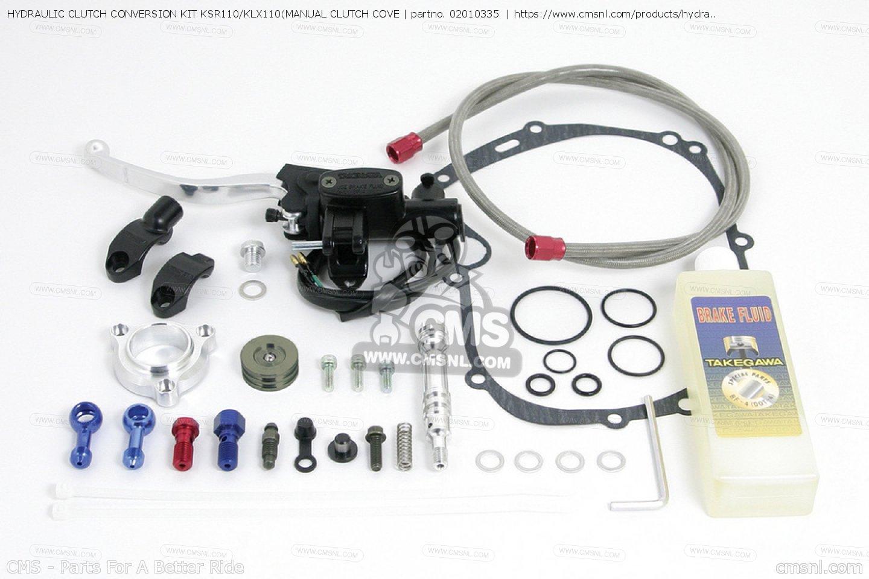 Ttr 110 manual clutch kit