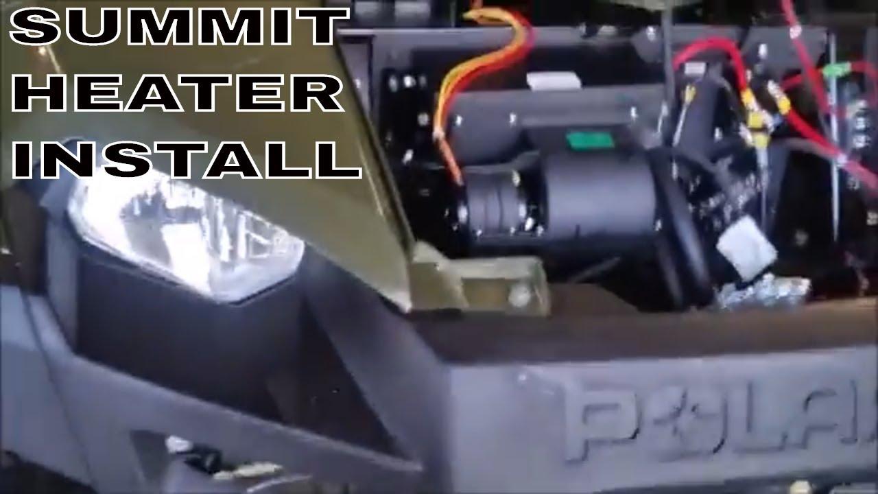 polaris ranger 500 heater installation instructions