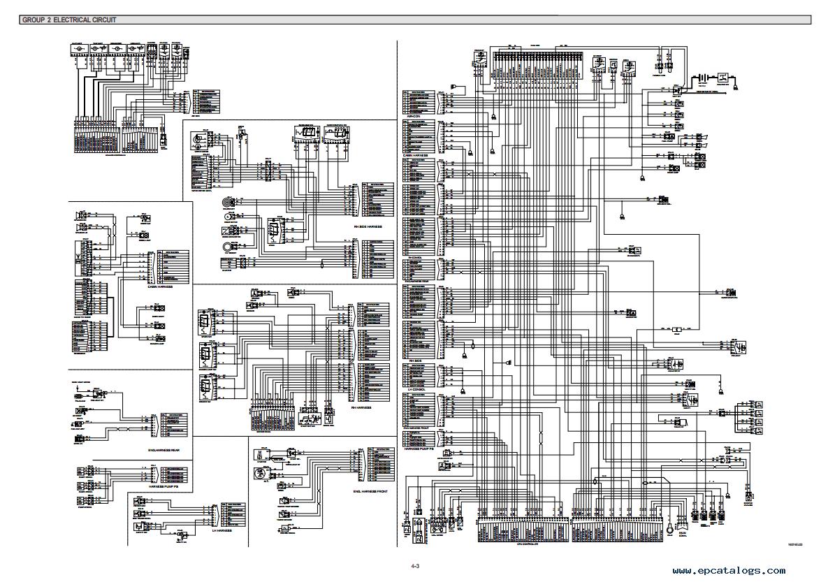 hyundai robex 210 lc 7 parts manual