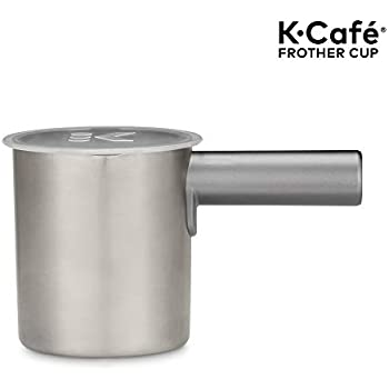 keurig cafe one touch milk frother manual