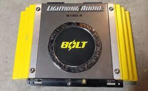 Lightning audio b4 250.2 manual