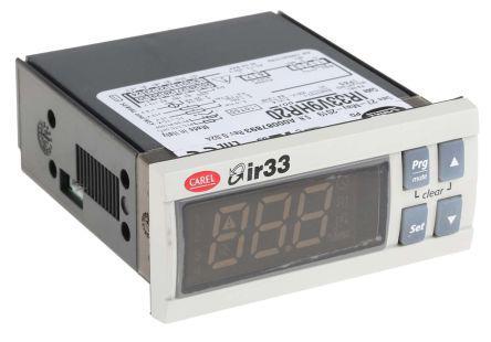 set a temperature of carel ir33 universal manual