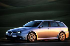 alfa romeo 156 gts wagon manual