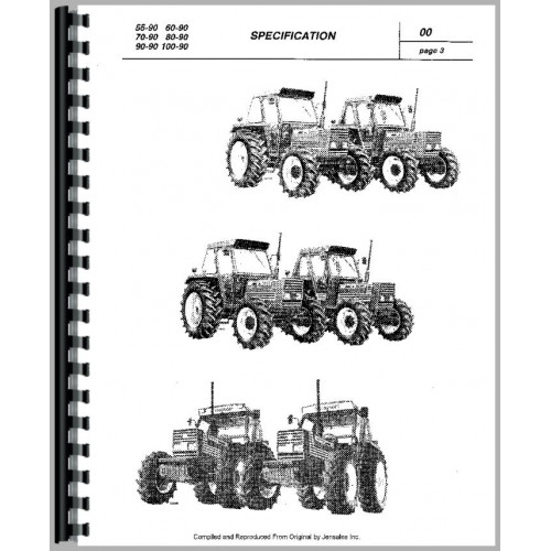 fiat 80 90 tractor manual
