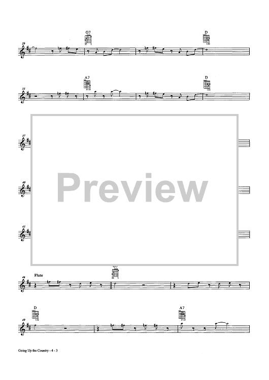 Canned heat sheet music pdf