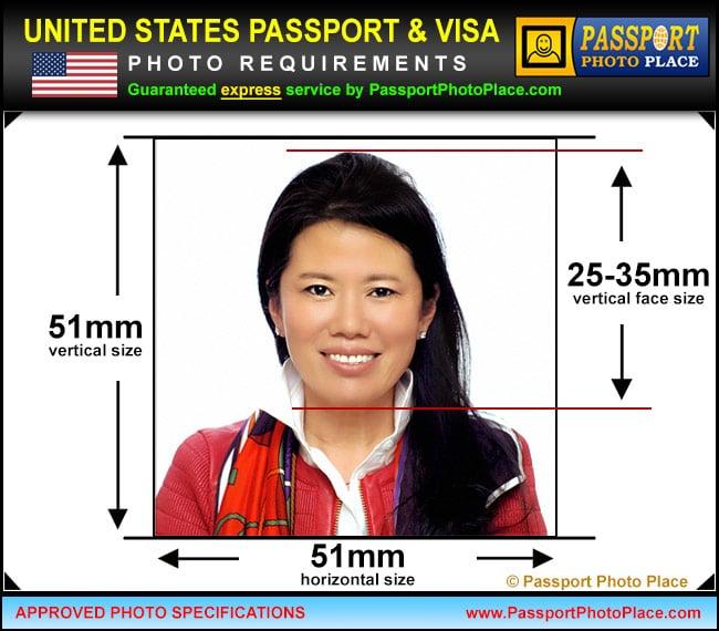 Us passport photo requirements pdf