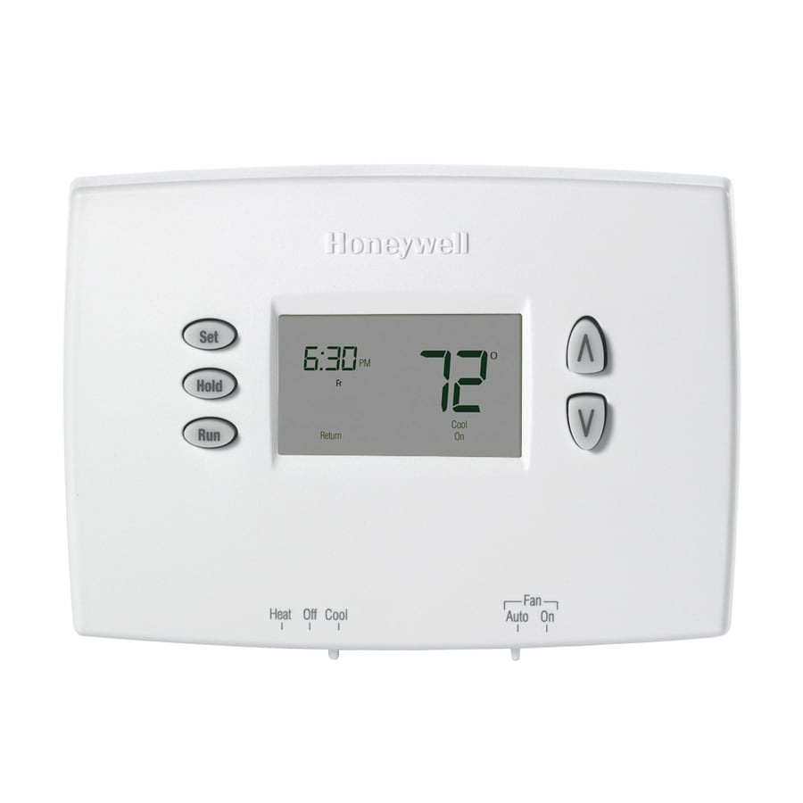 honeywell basic thermostat instructions